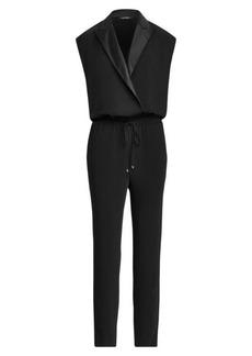 Ralph Lauren Crepe Jumpsuit