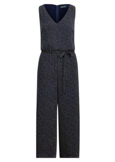 Ralph Lauren Crepe Wide-Leg Jumpsuit