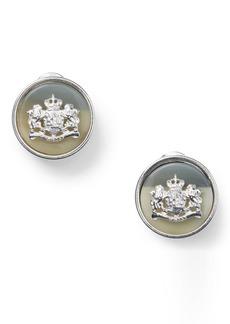 Ralph Lauren Crest Earrings