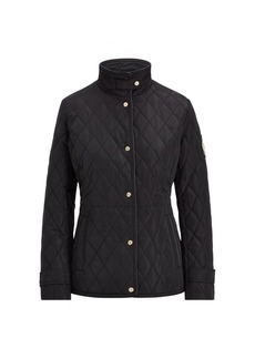 Ralph Lauren Crest-Patch Quilted Jacket