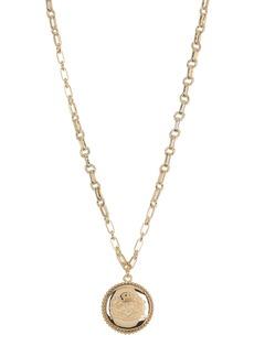 Ralph Lauren Crest Pendant Necklace