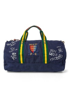Ralph Lauren Crested Canvas Duffel