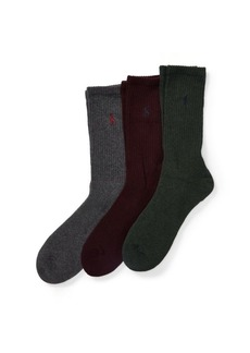 Ralph Lauren Crew Sock 3-Pack
