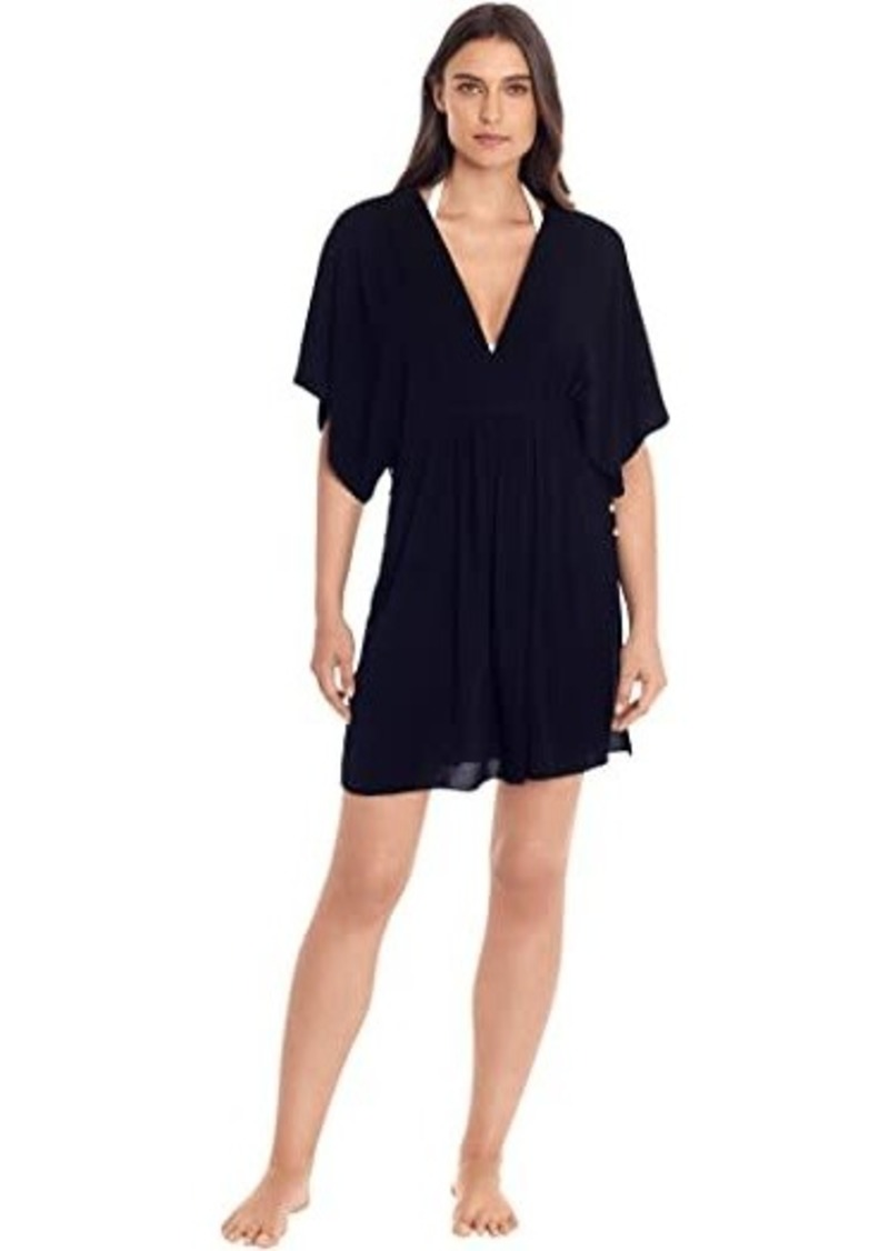 Ralph Lauren Crinkle Rayon Dress