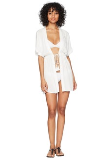 Ralph Lauren Crinkle Rayon Dress Cover-Up