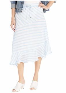 Ralph Lauren Crinkled Cotton Peasant Skirt