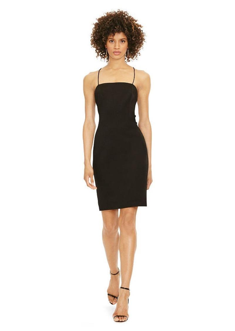 Ralph Lauren Crisscross-Back Sheath Dress