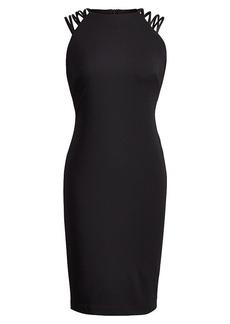 Ralph Lauren Crisscross-Strap Jersey Dress