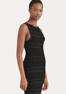 Ralph Lauren Crocheted Cotton Sheath Dress
