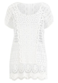 Ralph Lauren Crocheted Lace Cover-Up