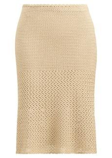 Crocheted Silk Skirt