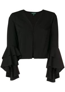 Ralph Lauren cropped flounce sleeve jacket