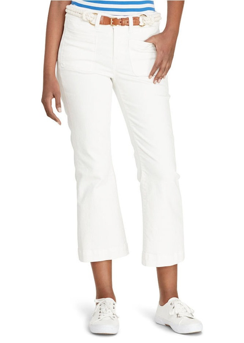 Ralph Lauren Cropped Straight-Leg Jean