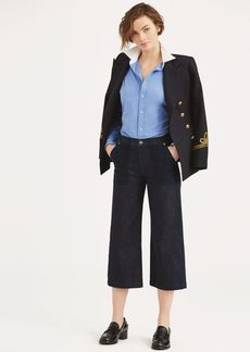 Ralph Lauren Cropped Wide-Leg Jean