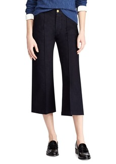 Ralph Lauren Cropped Wide-Leg Jeans