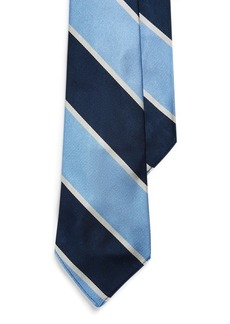 Ralph Lauren Crossed-Oars Crest Tie
