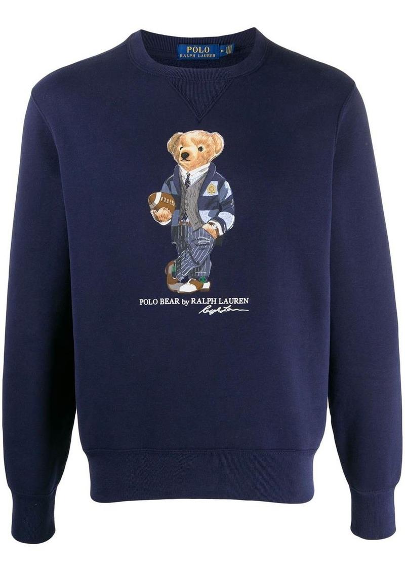Ralph Lauren cruise bear print sweatshirt