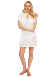 Ralph Lauren Crushed Cotton Darcy Tunic Cover-Up