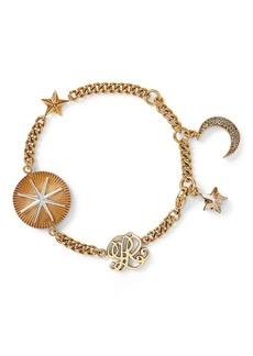 Ralph Lauren Crystal Charm Bracelet