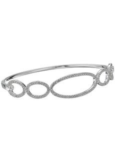 Ralph Lauren Crystal Pave Link Bangle Bracelet