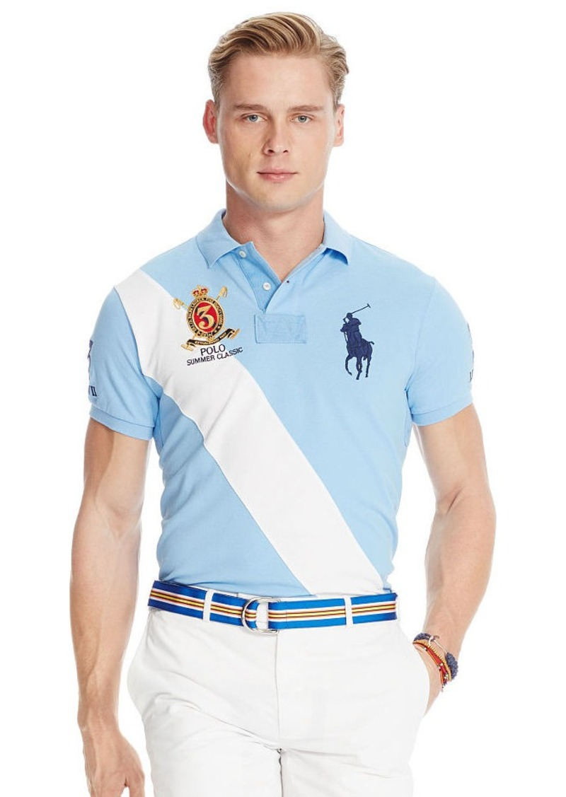 Ralph Lauren Custom-Fit Banner Polo Shirt