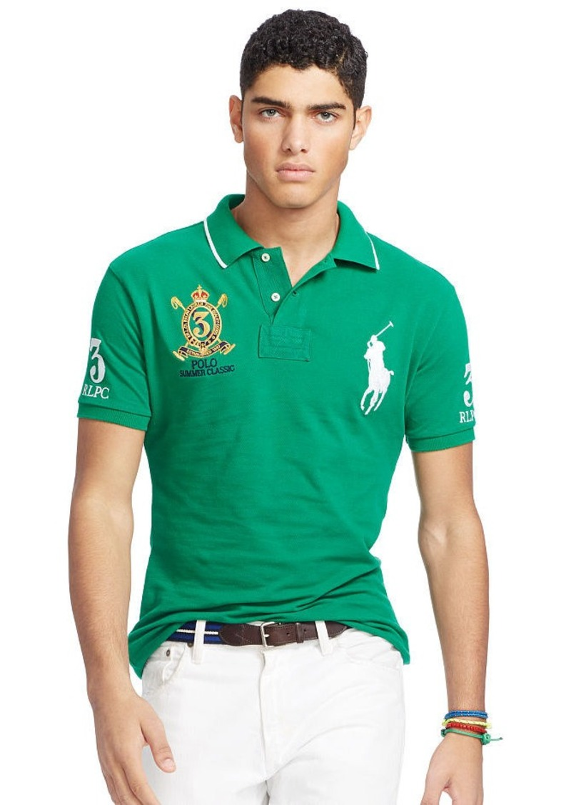 Ralph Lauren Custom-Fit Big Pony Polo Shirt