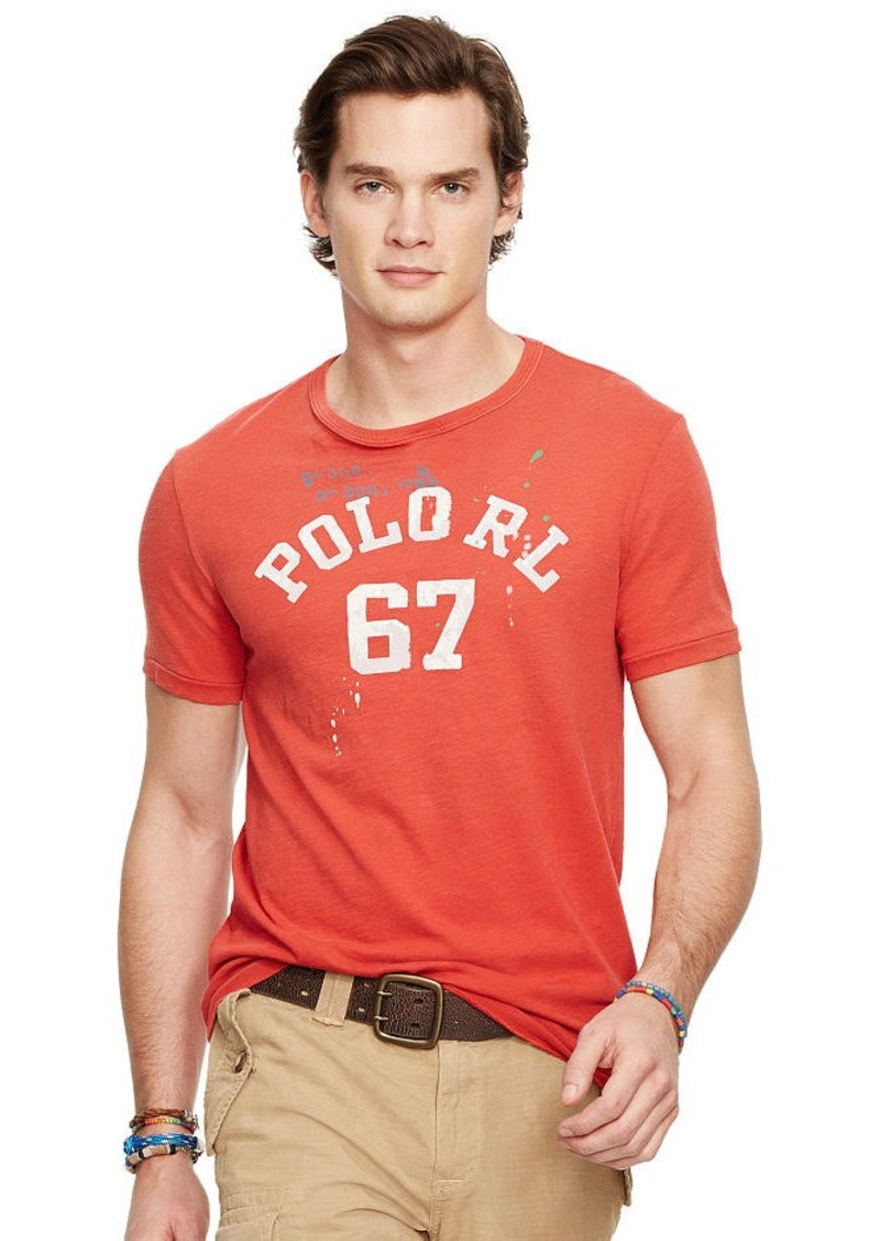 Ralph Lauren Custom-Fit Graphic T-Shirt