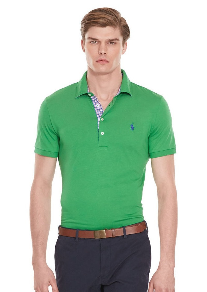 Ralph Lauren Custom-Fit Lisle Polo Shirt