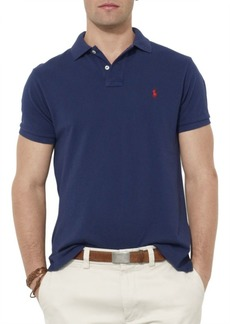 Ralph Lauren Custom-Fit Mesh Polo