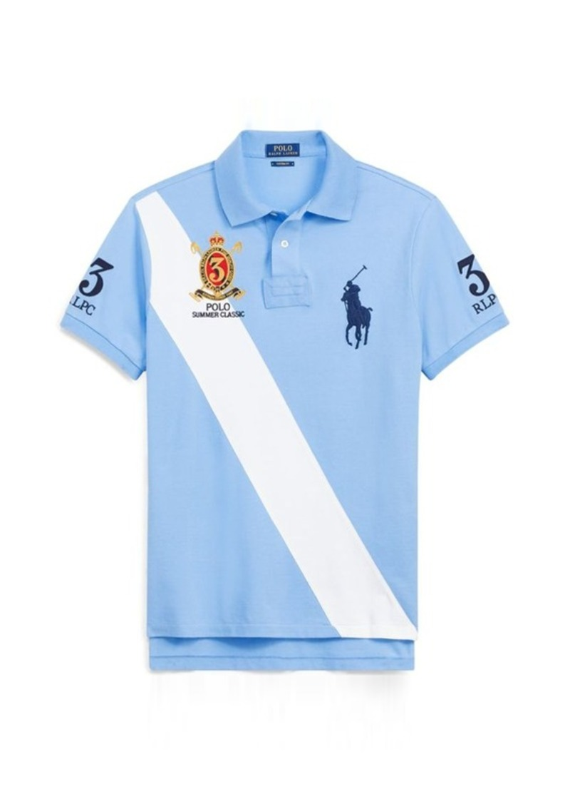 Ralph lauren custom fit mesh polo shirt shop it to me for Ralph lauren custom fit mesh polo shirt