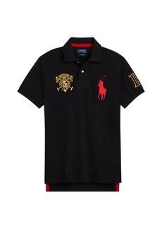 Ralph Lauren Custom Fit Mesh Polo Shirt