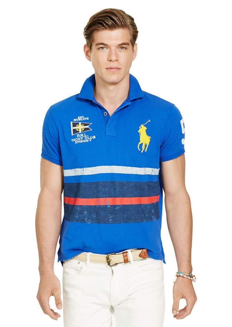Ralph Lauren Custom-Fit Nautical Polo Shirt