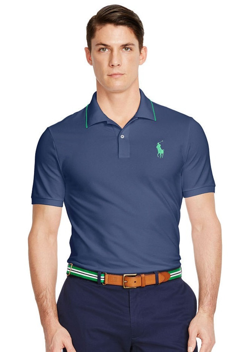 Ralph Lauren Custom-Fit Piqué Polo Shirt