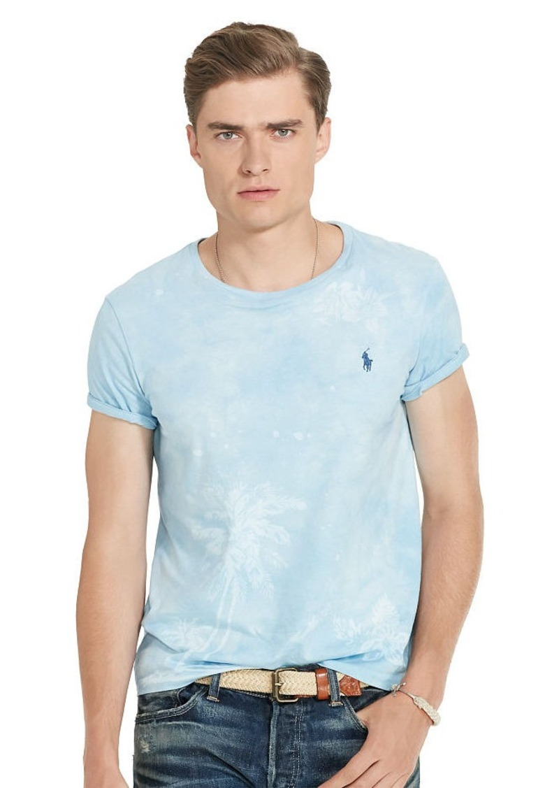 Ralph Lauren Custom-Fit Printed T-Shirt