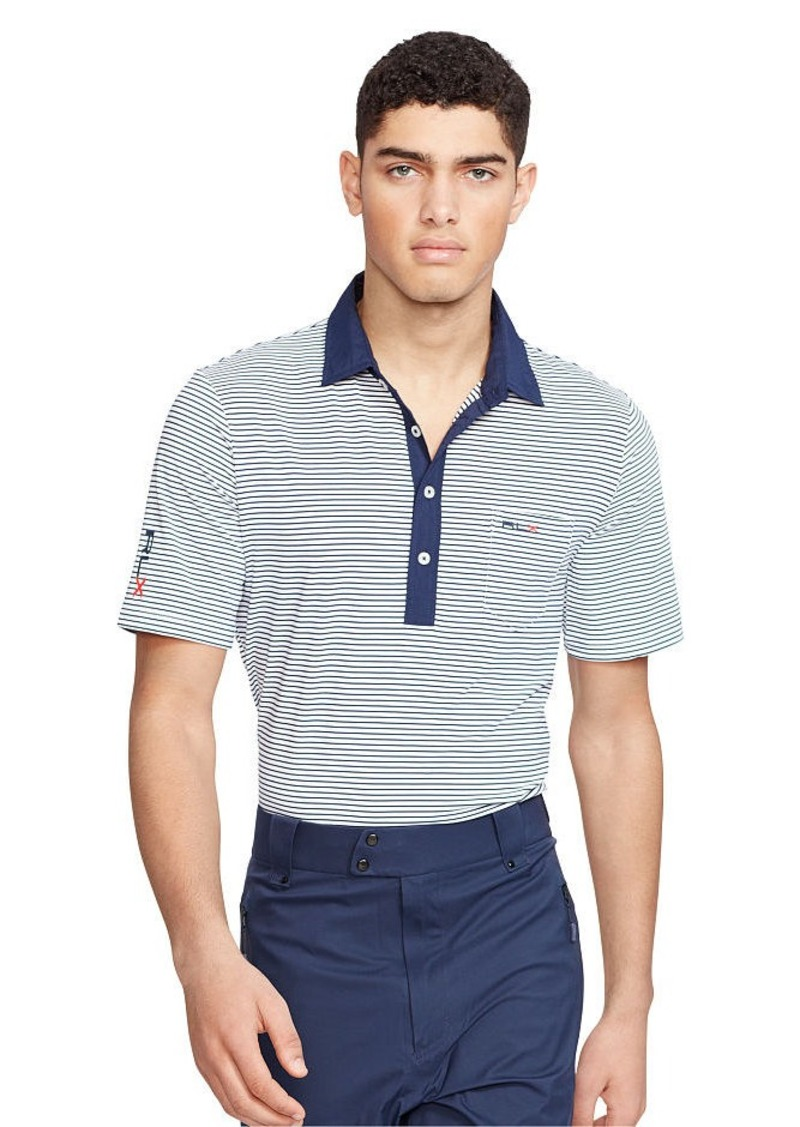 Ralph Lauren Custom-Fit Striped Polo