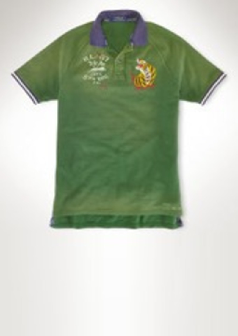 Ralph Lauren Custom Fit Tiger Polo Shirt Casual Shirts