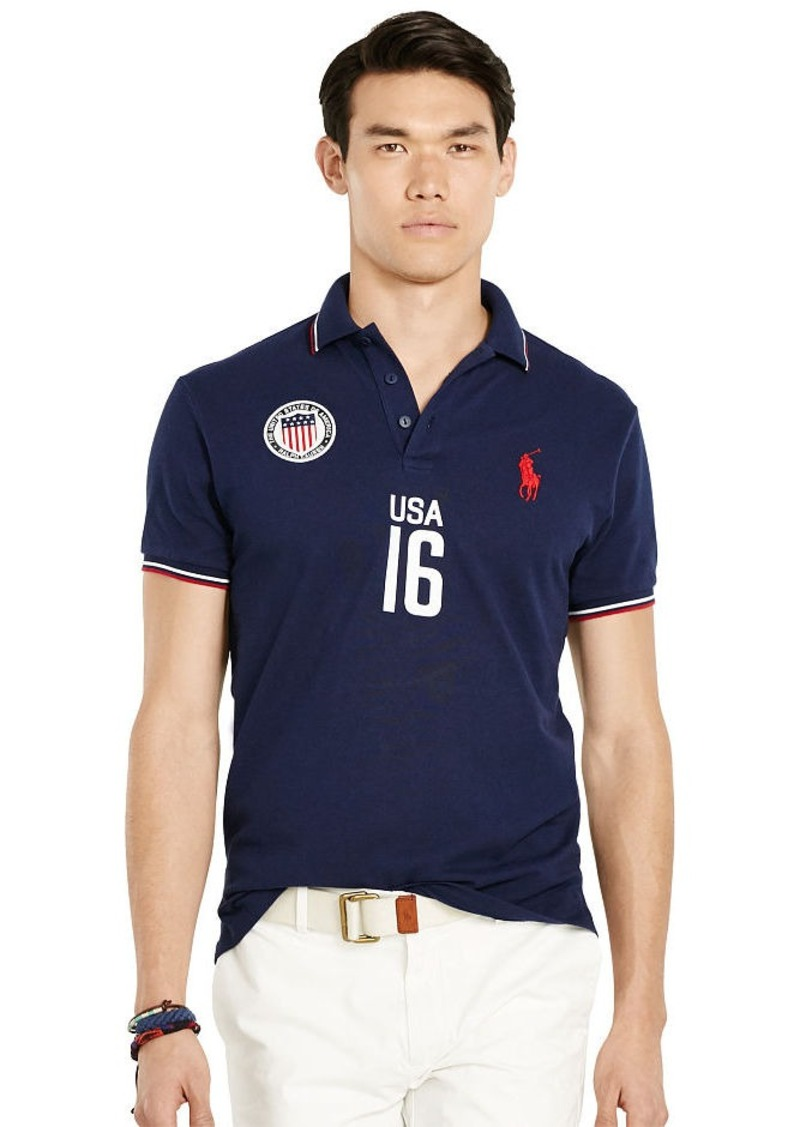 Ralph Lauren Custom-Fit USA Polo Shirt