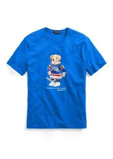 Ralph Lauren Custom Slim Fit Bear T-Shirt