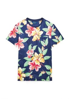 Ralph Lauren Custom Slim Fit Floral T-Shirt