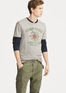 Ralph Lauren Custom Slim Fit Jersey T-Shirt