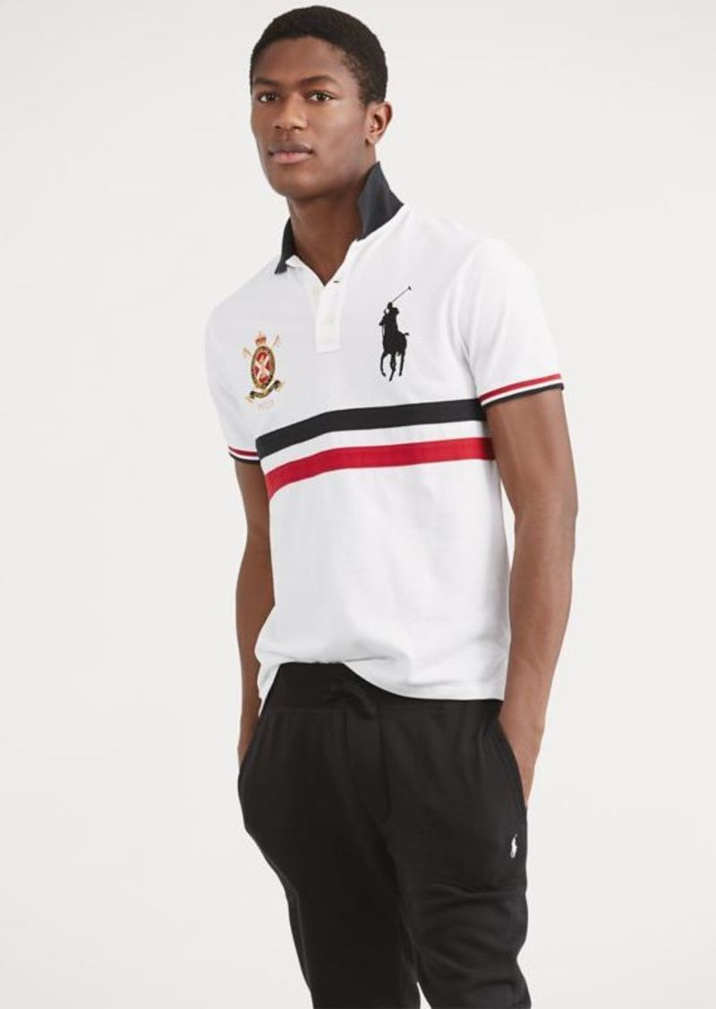 4ce54622db65 Ralph Lauren Custom Slim Fit Mesh Polo Now  54.99
