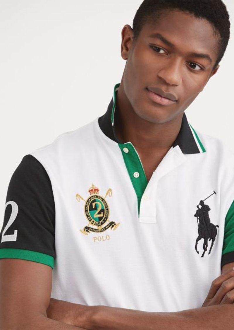 5dbebd4bc Ralph Lauren Custom Slim Fit Mesh Polo | Casual Shirts