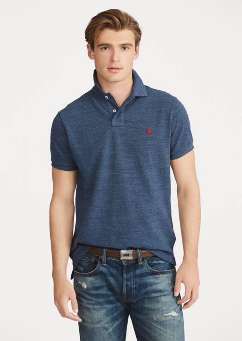 7e2766c58ea Ralph Lauren Custom Slim Fit Mesh Polo