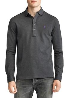 Ralph Lauren Custom Slim-Fit Mesh Polo