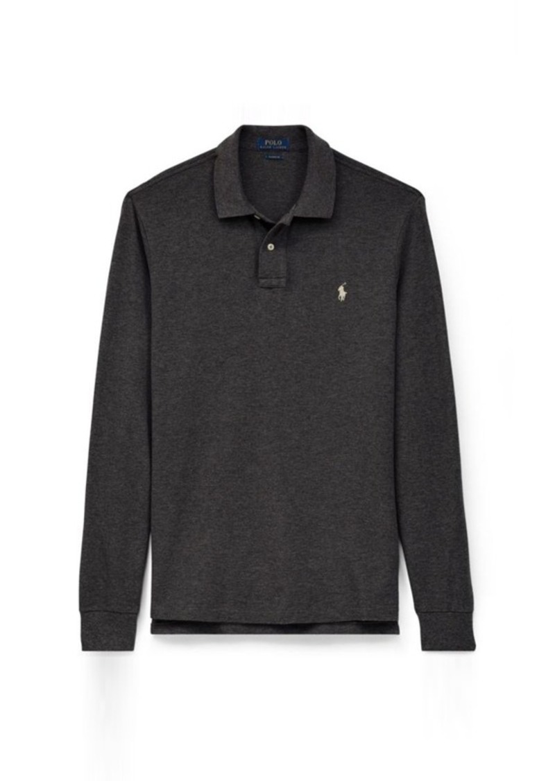 Classic Fit Long-Sleeve Polo. Ralph Lauren