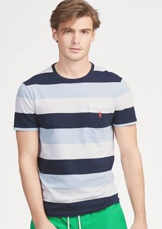 Ralph Lauren Custom Slim Fit Striped Tee