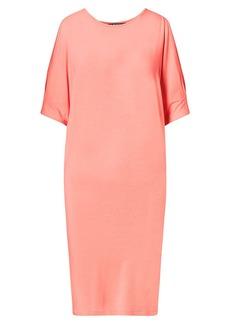 Cutout-Shoulder Jersey Dress