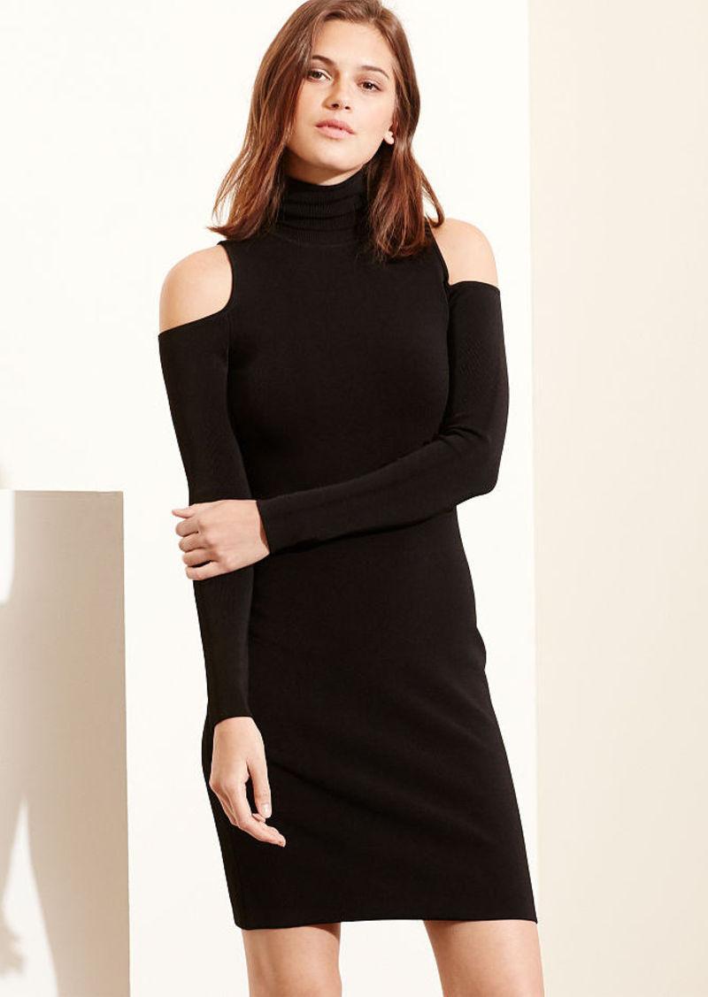 Ralph Lauren Cutout-Shoulder Jersey Dress
