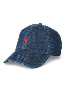 Ralph Lauren Denim Ball Cap