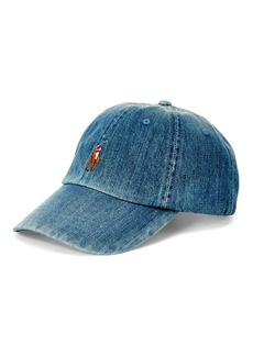 Ralph Lauren Denim Baseball Cap